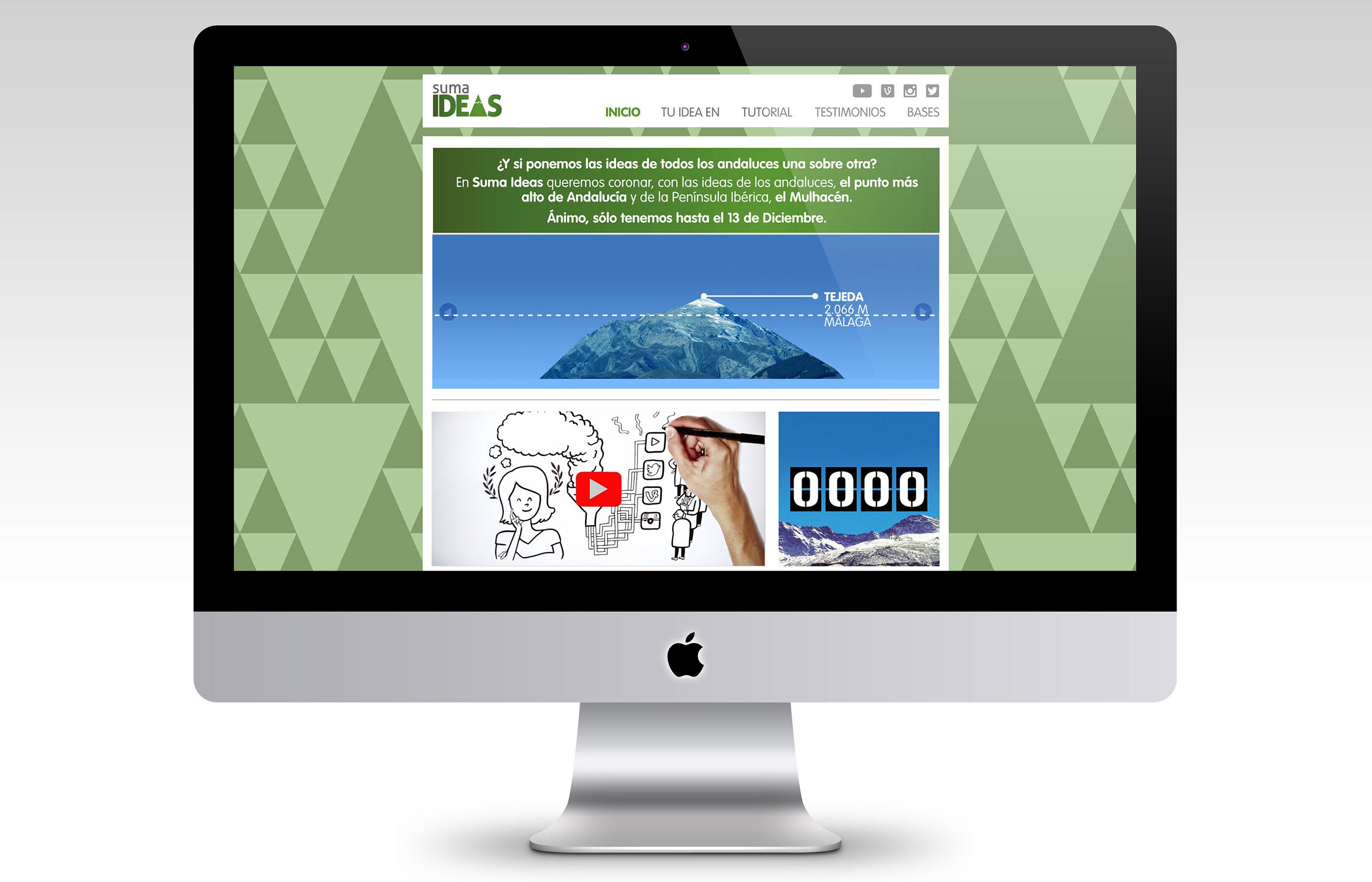 La web de Sumaideas con videotutorial