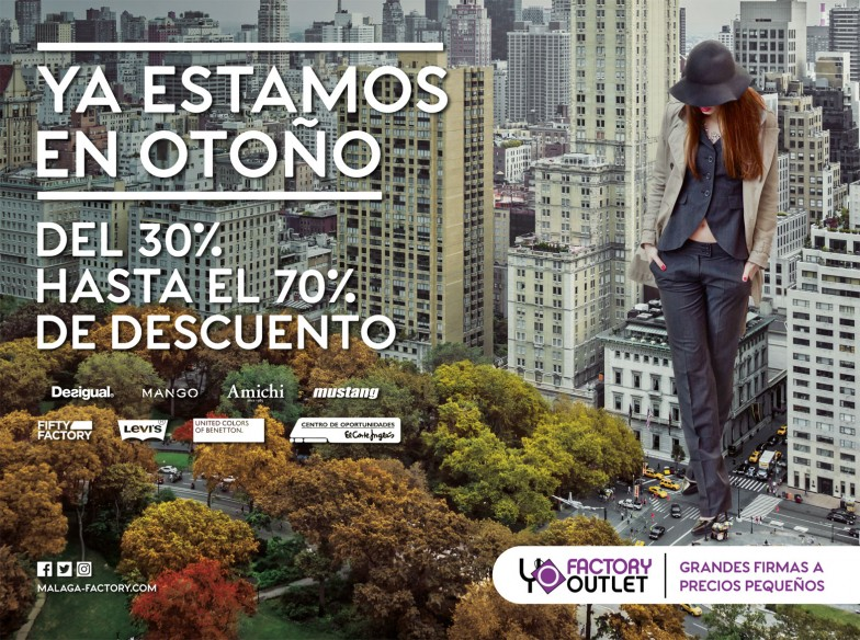 Factory Outlet - Campañas 2014 - 2016